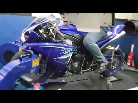 Yamaha YZF R1 Bazzaz ZFI Dyno Tuning (Flashed ECU) - Motodynamics Technology Malaysia