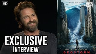 Gerard Butler on Geostorm, How to Train Your Dragon 3 & Angel Has Fallen   Exclusive Interview