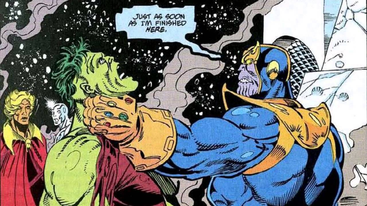 Galactus Vs Thanos Mar...