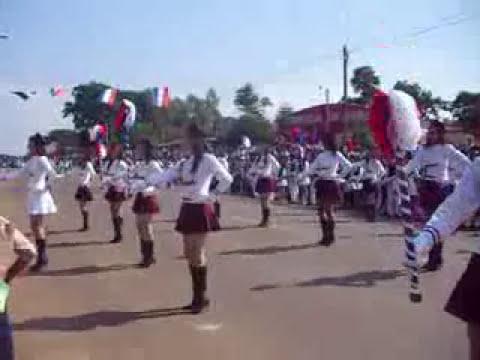 mejor coreografia desfile bicentenario Santa Rosa del Aguaray