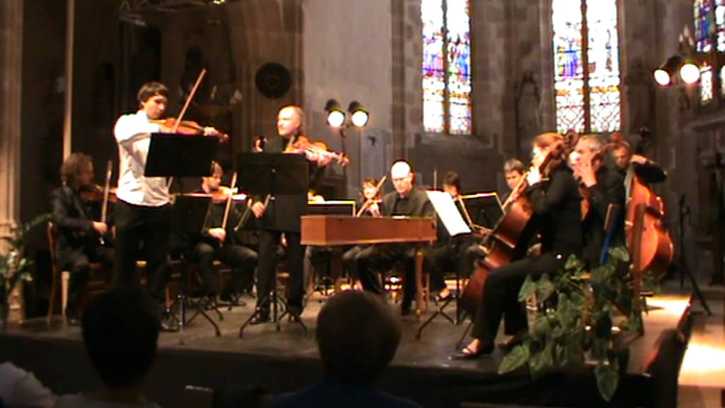 Bach cto for 2 violins r pasquier f pineau toulouse for Chamber l orchestre de chambre noir