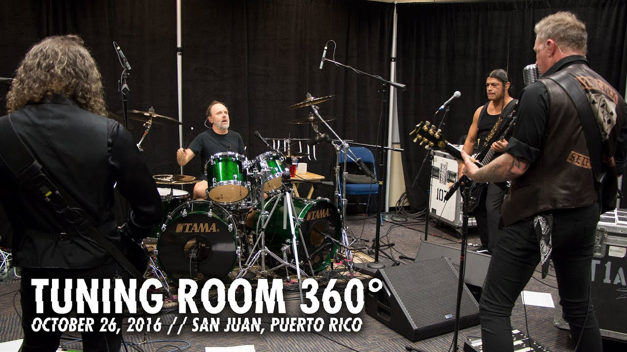 Metallica: Creeping Death (Tuning Room - San Juan, Puerto Rico - 360° View)
