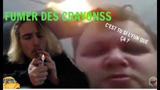 CET HOMME BRULE DES CRAYONS