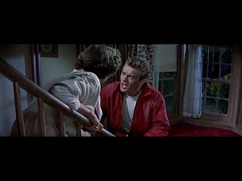 Jim Fights With His Parents: Rebel Without A Cause (1955)