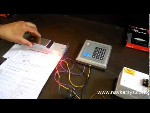 RFID Access Control With Electro Magnetic EM Lock