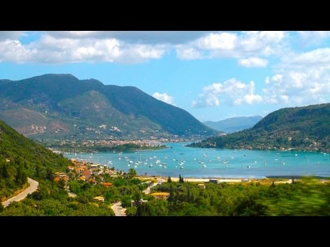 Travel to Nydri on Levkas Lefkada (3) island  - Greece trip with ReiseWorld travel channel