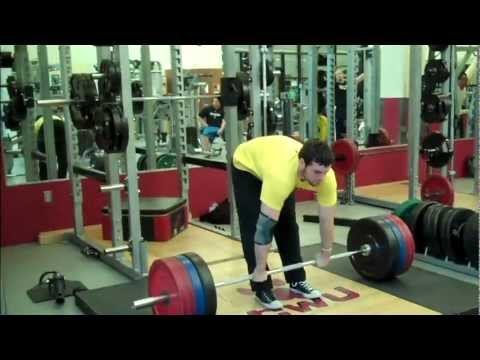 Heavy squats and crazy deadlifting supersets Ben Rice Image 1
