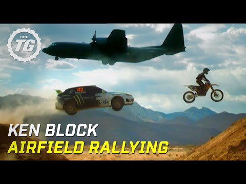 Ken Block Airfield Rallying - Top Gear - BBC