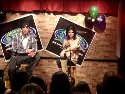 Selena Gomez ''shia N Logan Are My Crush'' video
