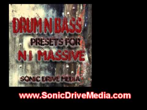 DnB Presets Patches for Native Instruments Massive Soundbank Soundset DrumandBass Drumnbass