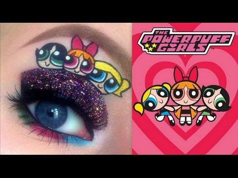 The Powerpuff Girls Makeup Tutorial
