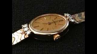 Tiffany & Co Lady's Watch -- 14KT Yellow Gold, tri colored gold, diamonds