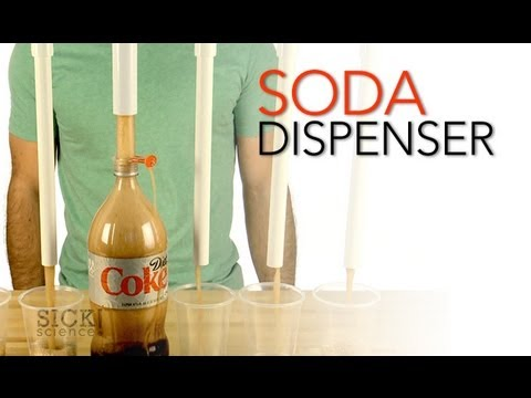 lab experiment to decarbonate soft drink