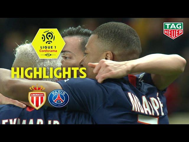 AS Monaco - Paris Saint-Germain ( 1-4 ) - Highlights - (ASM - PARIS) / 2019-20 thumbnail