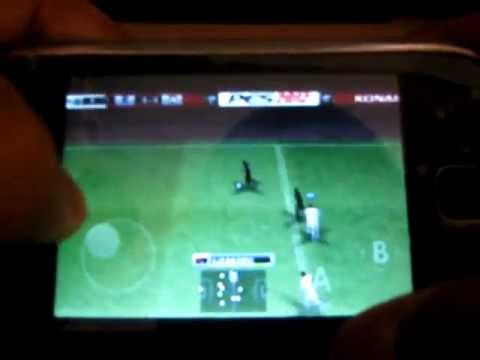 How to run PES 2012 on galaxy Y or any QVGA device (tutorial) free download!!