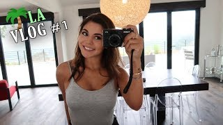 LA VLOG #1 (Airport, Seeing the House & Shopping!)