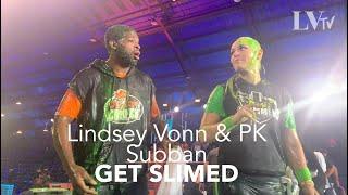 Lindsey Vonn & PK Subban Do Nickelodeon Kids Choice Sports