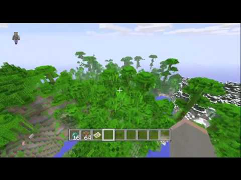 Jungle Biome Spawn! - Minecraft (Xbox 360) TU12 Seed Showcase #3