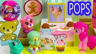 MLP Squishy POPS Blind Bag Balls Squinkies POP Up Playsets Bakery Beach Pinkie Pie My Little ...