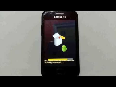 Samsung Galaxy ace plus update