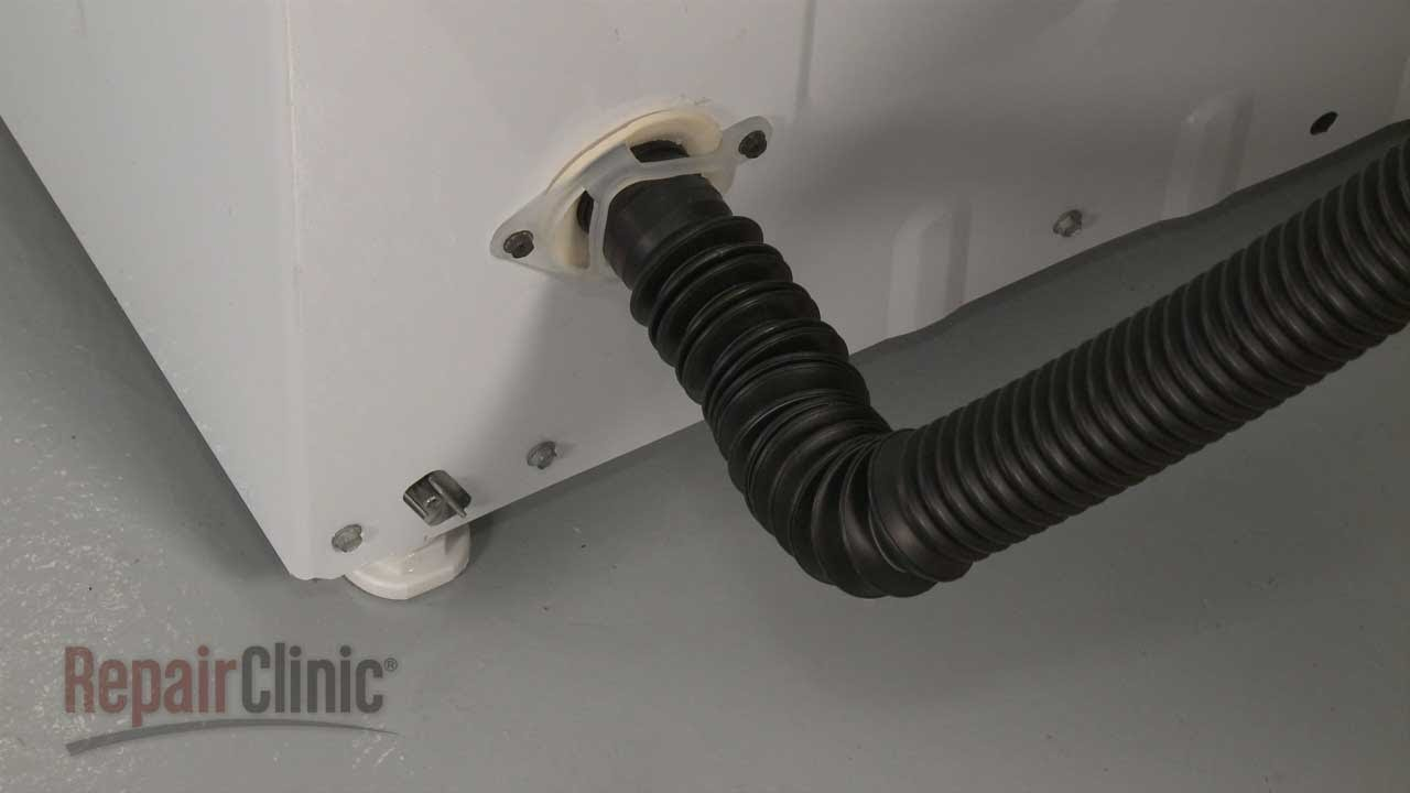 kenmore washing machine drain hose installation