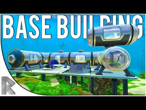 BASE BUILDING! - Let's Play Subnautica Part 4 (Subnautica Gameplay)