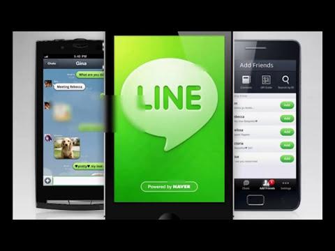 Line, mensajeria instantanea con llamadas gratuitas a través de una sola aplicación!!