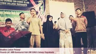 Beatbox Laskar Pelangi - HMI Febi Cab. Yogyakarta