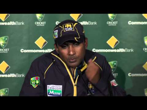 Mahela Jayawardene and Nuwan Kulasekara press conference - Jan 18th