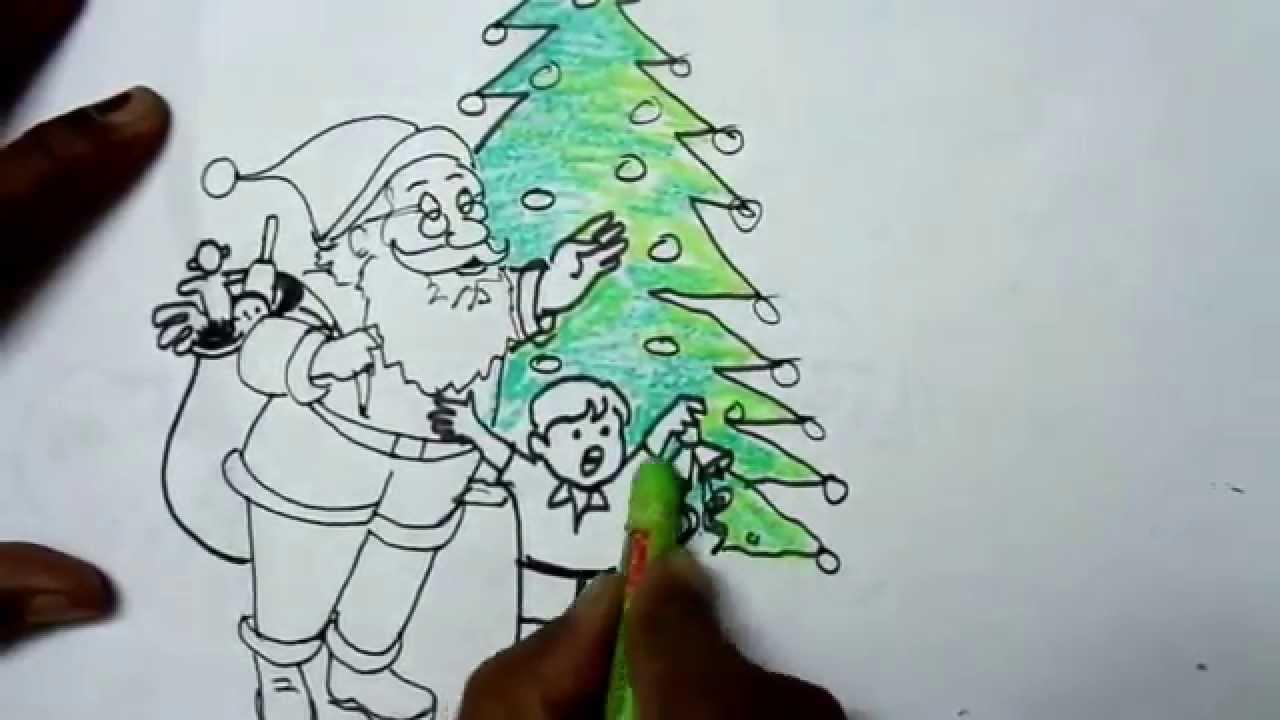 Santa Claus Easy Drawing - YouTube