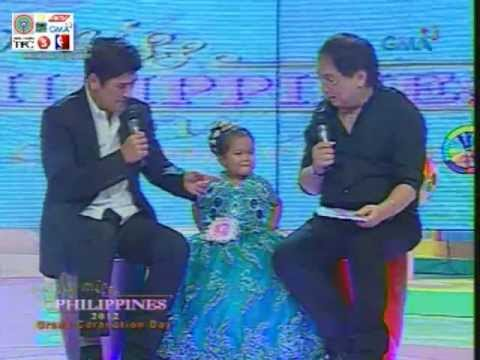 Little Miss Philippines 2012 Grandfinals Question  &  Answer
