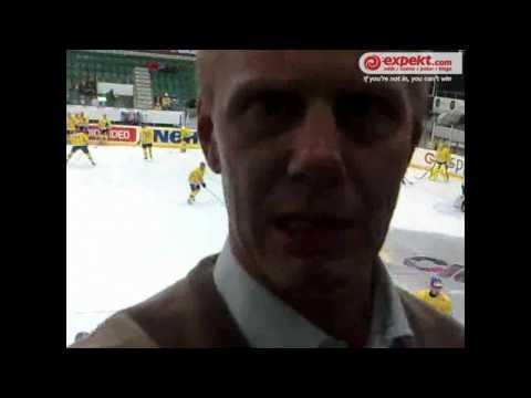 Hockey VM 2010 - Wikegård är på plats