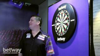 Betway Trick Shot League: Ep 3 Three Dart Throw