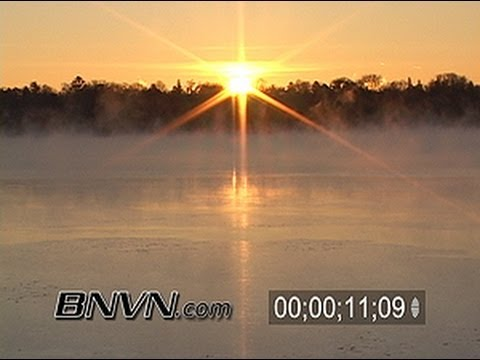 12/19/2004 Sub Zero Fog over Lake Harriet in Minneapolis, MN