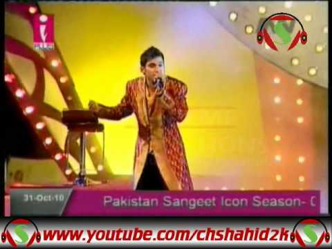 Asad Abbas Naina Thag Lain Gay Pakistan Sangeet Icon 1 Grand Finale video