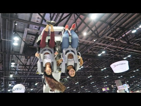 New Theme Park & Roller Coaster Tech At IAAPA Attractions Expo 2015!!!