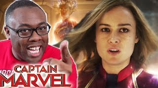 CAPTAIN MARVEL Trailer 2 Review & Rants - Black Nerd