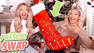 NO BUDGET BEST FRIEND CHRISTMAS PRESENT SWAP!! FT. SAFFRON BARKER!
