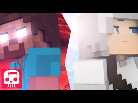 HEROBRINE VS GRIEFER RAP BATTLE by JT Machinima (Minecraft Song Animation by Fuzeit)