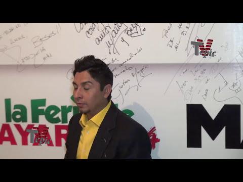 El comediante J J  en la feria de Nayarit 2014
