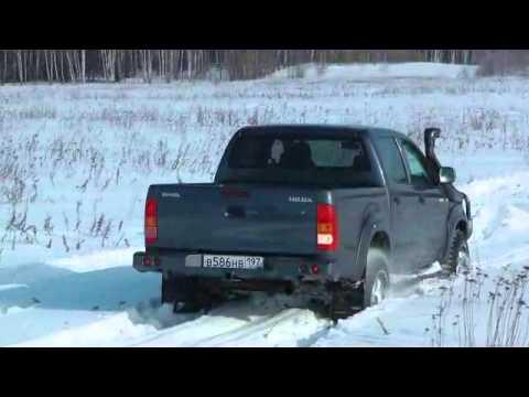 Тест-драйв Toyota Hilux 2012, часть 1