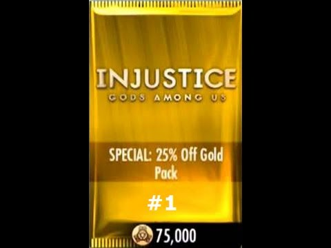 Injustice Gods Among Us iOS Gold Booster Pack #1 and Farming Credits