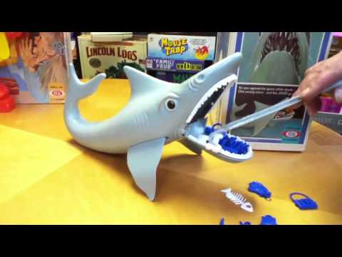 JAWS Shark Game Is Lame? Toy review by Mike Mozart of TheToyChannel