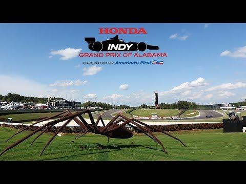 Sunday at the 2018 Honda Indy Grand Prix of Alabama