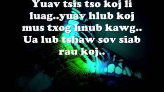 Khab Lis  Ua Siab So Kua Muag Lyrics