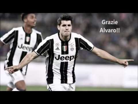 Alvaro Morata - Juventus - Thank you