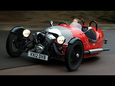 Morgan 3 Wheeler video review - autocar.co.uk