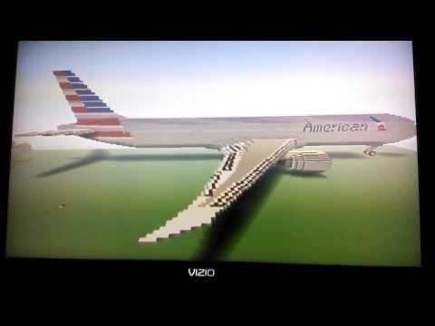 Minecraft Boeing 777-300ER - American Airlines