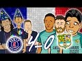 Download 😲4-0! PSG vs BARCELONA😲🎤 The Song🎤MSN go down together in Paris (Champions League 2017) MP3 song and Music Video