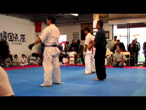 Kyokushin Karate LA Freshman Tournament part2 Image 1
